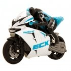Electrix RC Outburst 1/14 Motorbike with Gyro and 2.4Ghz Radio System (Blue) - ECX01004T1