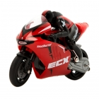 Electrix RC Outburst 1/14 Motorbike with Gyro and 2.4Ghz Radio System (Red) - ECX01004T2