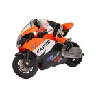 Jin Xing Da Mini RC Motorbike with Gyro and 2.4Ghz Radio System (Orange) - GX806O