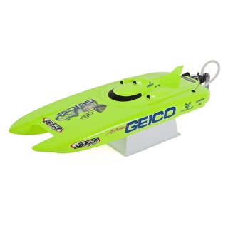 ProBoat Miss Geico 17-inch RTR Brushed Catamaran Boat with 2.4GHz Radio System - PRB08019I