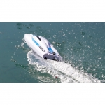 ProBoat React 9 Self-Righting Deep-V Electric RC Boat (Ready-to-Run) - PRB08023