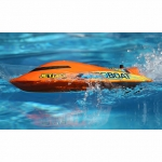 """ProBoat Jet Jam 12"""" Pool Racer RC Boat with Transmitter, Battery and Charger (Orange) - PRB08031T1"""