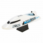 "ProBoat Jet Jam 12"" Pool Racer RC Boat with Transmitter, Battery and Charger (White) - PRB08031T2"