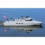 "ProBoat Riverine Patrol 22"" Scale Boat with 2.4GHz Radio and LED Light System - PRB08035"