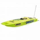 "ProBoat Miss GEICO Zelos 36"" Twin Brushless Motor Catamaran Boat - PRB08040"