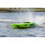 "ProBoat Miss GEICO Zelos 36"" Twin Brushless Motor Catamaran Boat - PRB08040"