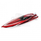 Traxxas Spartan Brushless Powered Boat Now with the NEW TQi 2.4Ghz Radio System - TRX5707-Red