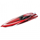 Traxxas Spartan Brushless Race Boat RTR with TQi 2.4Ghz Radio System (Red) - TRX57076-R