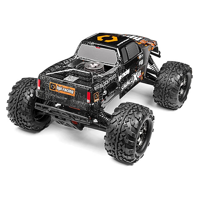 hpi savage x 4 6 rtr 1 8th scale 4wd nitro powered monster truck 109083. Black Bedroom Furniture Sets. Home Design Ideas