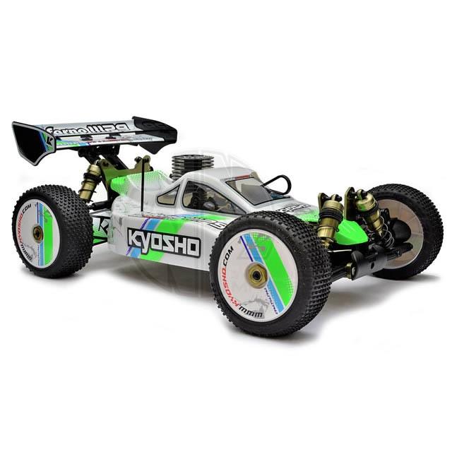 Nitro R C Cars Engine Tuning Secrets: Kyosho Inferno MP9 TKI3 1/8 Nitro Buggy With 2.4GHz Radio