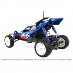 Tamiya RC 1/10 Rising Fighter 2WD Buggy with ESC and Motor (Unassembled Kit) - 58416