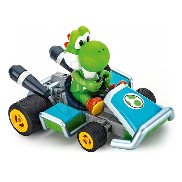 carrera rc 1 16 scale mario kart 7 yoshi radio control car. Black Bedroom Furniture Sets. Home Design Ideas