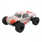 ECX AMP 1/10 2WD Monster Truck with 2.4Ghz Transmitter (White/Orange) - ECX03028IT1