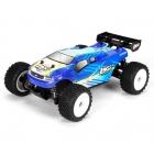 Losi 1/24 Scale 4WD Micro Ready-to-Run Truggy (Blue) - LOSB0244IT2