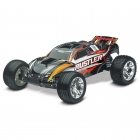 Traxxas Rustler XL-5 1/10 Stadium Truck With TQ 2.4Ghz Radio System (Black) - TRX37054-1BLK