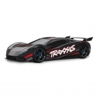 Traxxas XO-1 Electric 4WD 1/7 On-Road Car with 2.4GHz TQi Radio System (Black) - TRX64077-3BLK