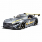 Tamiya R/C 1/10 Mercedes AMG SLS GT3 TT-02 with ESC and Motor (Unassembled Kit) - 58639