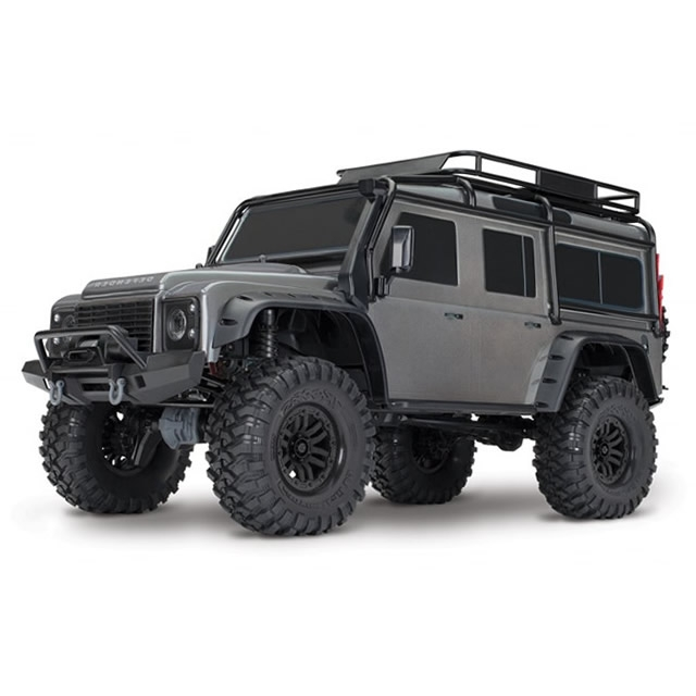 traxxas trx 4 1 10 land rover defender rock crawler with. Black Bedroom Furniture Sets. Home Design Ideas