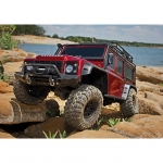 Traxxas TRX-4 1/10 Land Rover Defender Rock Crawler with TQi