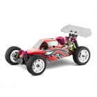 Thunder Tiger EB4 S2.5 Nitro Buggy with PRO 28 Engine and 2.4Ghz Radio System (Red/Yellow) - TT6243F111