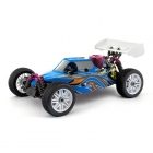 Thunder Tiger EB4 S2.5 Nitro Buggy with PRO 28 Engine and 2.4Ghz Radio System (Blue) - TT6243F112