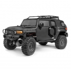 HPI Venture Crawler Toyota FJ Cruiser 1/10th 4WD Rock Crawler (Black) - 118146