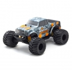 Kyosho Monster Tracker T2 1/10 RTR 2WD Electric RC Truck (Orange/Grey) - 34403T2B