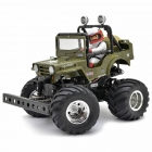 Tamiya XB 1/10 Wild Willy 2WD Monster Truck with 2.4Ghz Radio System (Ready-to-Run) - 57743