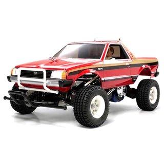 Tamiya Subaru Brat 1/10 Off-Road 2WD Pick-Up Truck with 2 Bodyshells (Unassembled Kit) - 58384