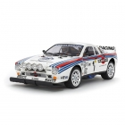 Tamiya 1/10 Lancia 037 RC Rally Car (TA02-S) (Unassembled Kit) - 58654