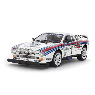 Tamiya 1/10 Lancia 037 RC Rally Car (TA02-S) (Unassembled Kit) - 58654