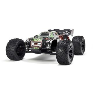 Arrma Kraton 6S BLX Brushless 1/8 Monster Truck with TTX300 2.4GHz Radio (Green/Black) - AR106031