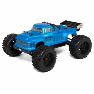 Arrma Notorious 6S BLX Brushless 1/8 Monster Stunt Truck (Black) - ARA106044T2