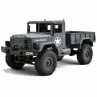 Funtek 1/16 CR4 Grey Military Truck Crawler 4WD with 2.4GHz Radio System (RTR) - FTK-CR4-GR