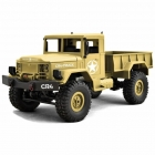 Funtek 1/16 CR4 Sand Military Truck Crawler 4WD with 2.4GHz Radio System (RTR) - FTK-CR4-SD