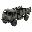 Funtek 1/16 PR4 Green Military Dump Truck 4WD with 2.4GHz Radio System (RTR) - FTK-PR4-GR