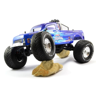 FTX Mighty Thunder 4WD All-Terrain RC Monster Truck (Ready-to-Run) - FTX5573B