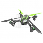 Hubsan X4 LED Mini Quad Copter RTF with Camera Recording and 2.4Ghz Radio System (Black/Green) - H107C-BG