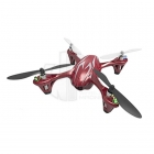 Hubsan X4 LED Mini Quad Copter RTF with Camera Recording and 2.4Ghz Radio System (Red/Silver) - H107C-RS