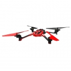 LaTrax Alias Ready-To-Fly Micro Quad-Copter with 2.4Ghz Radio System (Red) - TRX6608RED