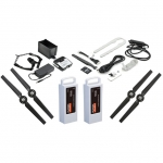 Yuneec Q500 4K Quad Copter with Camera, 2 Batteries, Trolley Case and Steady Grip Drone - YUNQ4KTUK