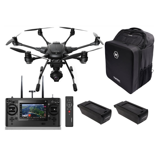 Yuneec Typhoon H Pro Realsense Drone With Gco3 4k Camera