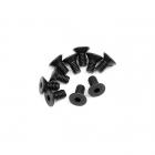 HPI Flat Head Screw M4x8mm Hex Socket (Pack of 10 Screws) - 110070