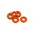 HPI Red Silicon O-Ring P-3 (5 O-Rings) - 6819