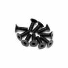 HPI Flat Head Screw M4x12mm Hex Socket (Pack of 10 Screws) - 94530