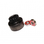 Answer RC 1/8th 16 Tooth Vented Clutch Bell with 5x12mm Bearings - ANSCBV016
