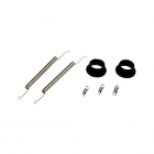 Answer RC Black Exhaust Rebuild Set - ANSEXB001