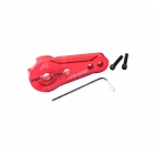 Answer RC 25T Clamping Servo Horn for Futaba, Ace and Savox Servos (Red) - ANSSH0025-R