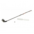 Blade 120 SR Tail Boom Assembly with Tail Motor and Rotor - BLH3102