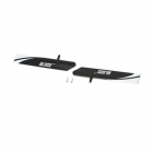 Blade mCP X and Blade mCPX V2 Fast Flight Main Rotor Blade Set with Screws - BLH3511